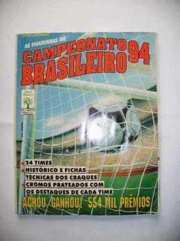 0d099c5928 Visitas deste produto  322. Código  9000. Album de Figurinhas Campeonato  Brasileiro de 1994.